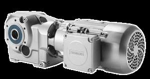 Kegelradgetriebemotor SIMOGEAR von Siemens
